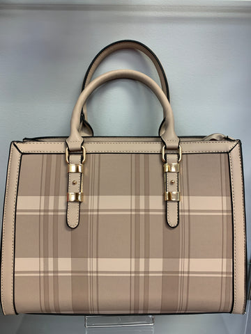 Apricot Plaid Bag