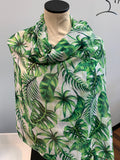 Green Leaf Scarf