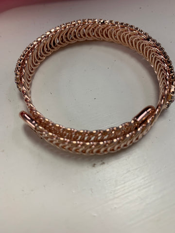 Rose Gold Bling Bracelet