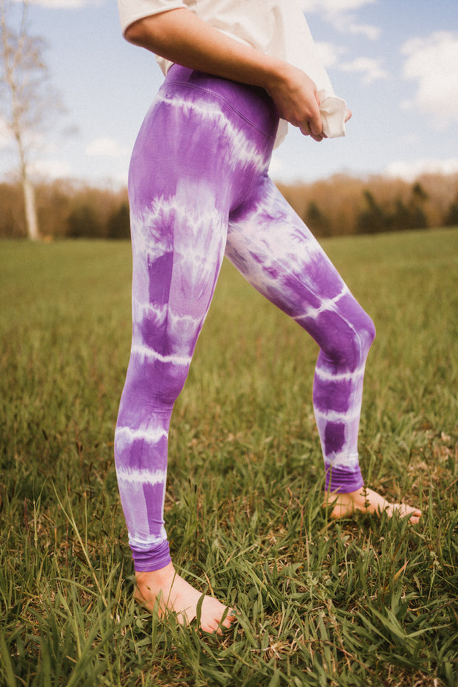 Tie-Dye Cotton Legging