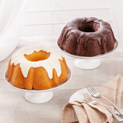 Triple Chocolate Chip Fudge Bundt Cake