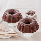 Triple Chocolate Chip Fudge Bundt Cake  2-Pack