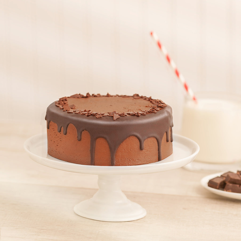 Prize Winning Chocolate 2-Layer Cake