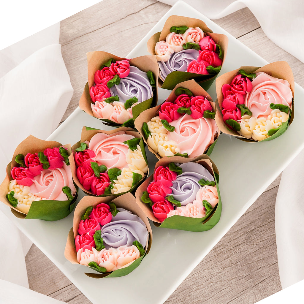 Bouquet Cupcakes  8-Pack
