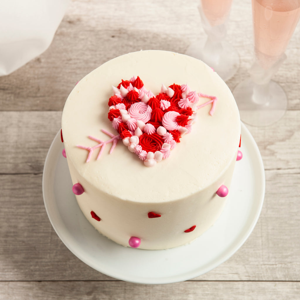 The Love is Sweet - Valentine's Day Layer Cake