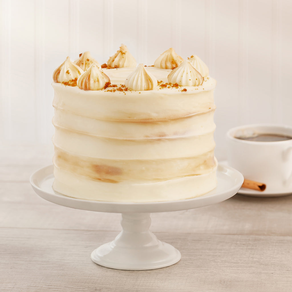 Pumpkin Caramel 4-Layer Cake