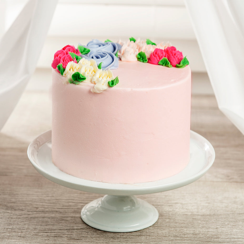 Spring Bouquet 4-Layer Cake