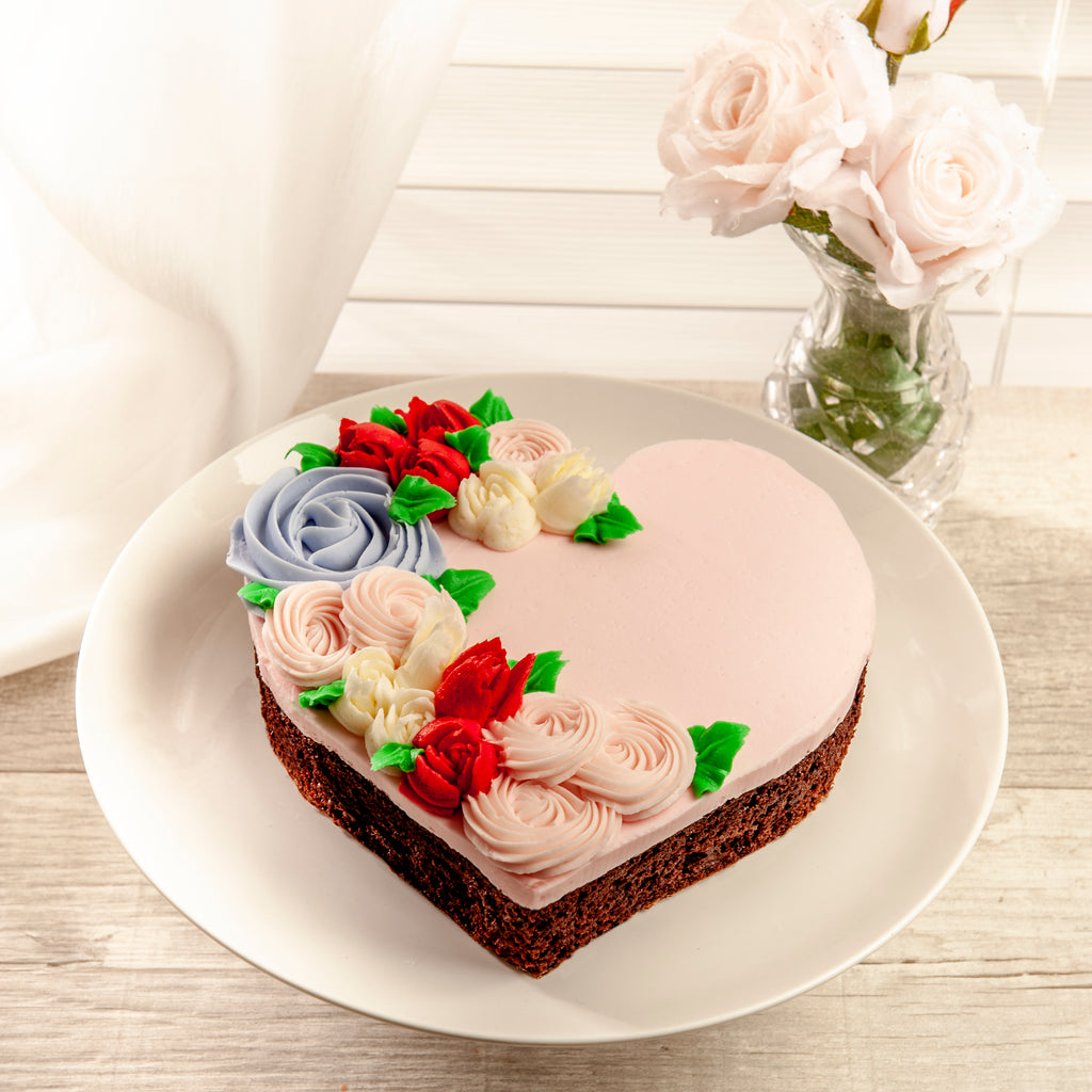 A Sweet Heart! - Valentines Day Layer Cake