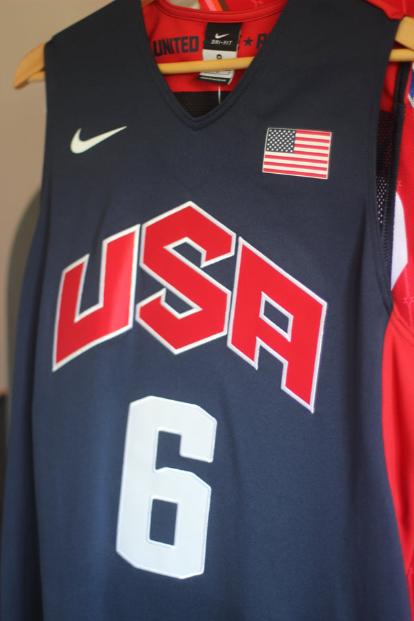 Nike Authentic jersey - LeBron James (Team USA)