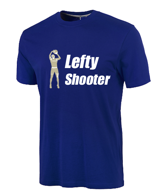 Tshirt Lefty Shooter - Blue Navy edition