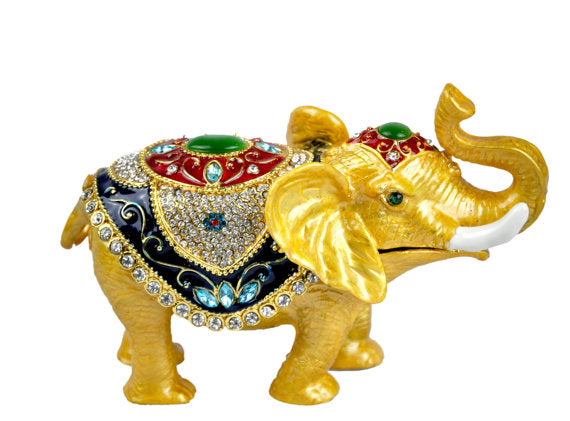 Decorative Elephant trinket box.