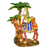 Desert Camel And Palm Tree Statue- Arabia Show Piece