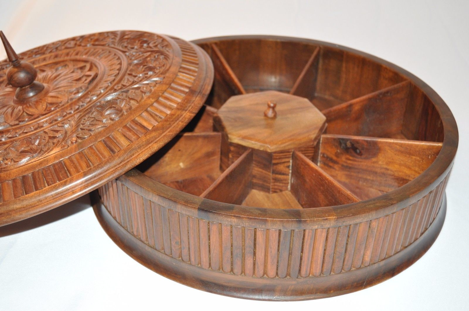 Wooden Dry Fruit Box- Kitchen Decorative and storage
