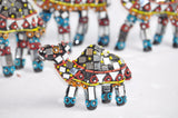 Handcrafts Camel Generation Mirror Beads work Decorative