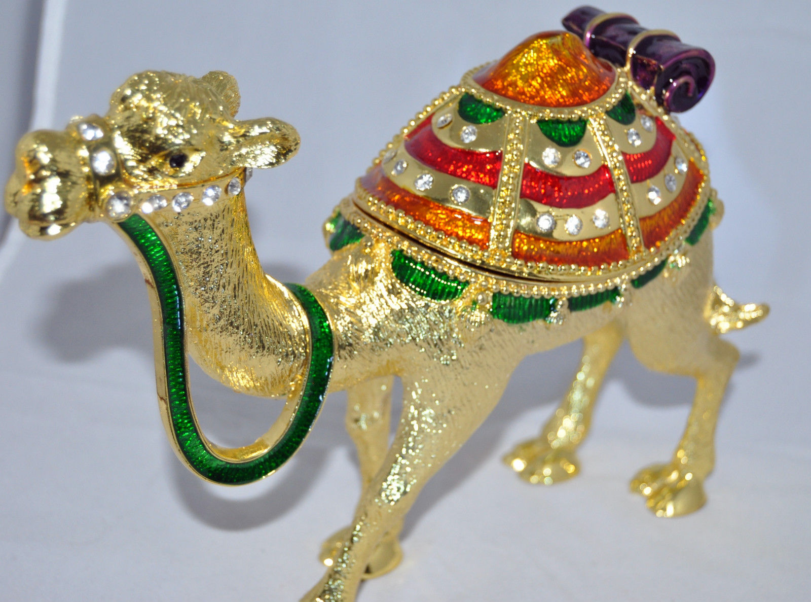 Middle East Desert Camel- Gold 10""