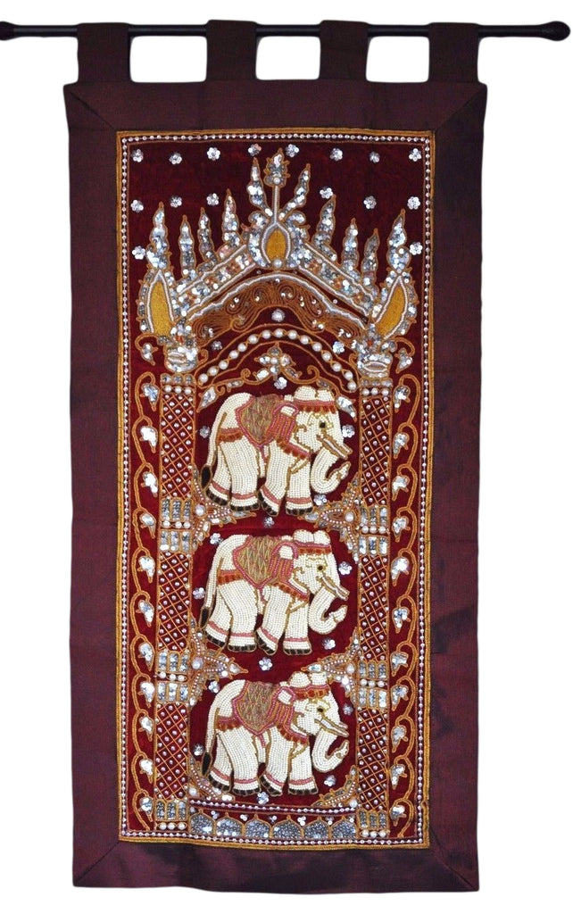 Kalaga Wall Hanging Decor- Handmade elephant work