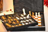 Onyx Marble chess Set with gift box 13x13