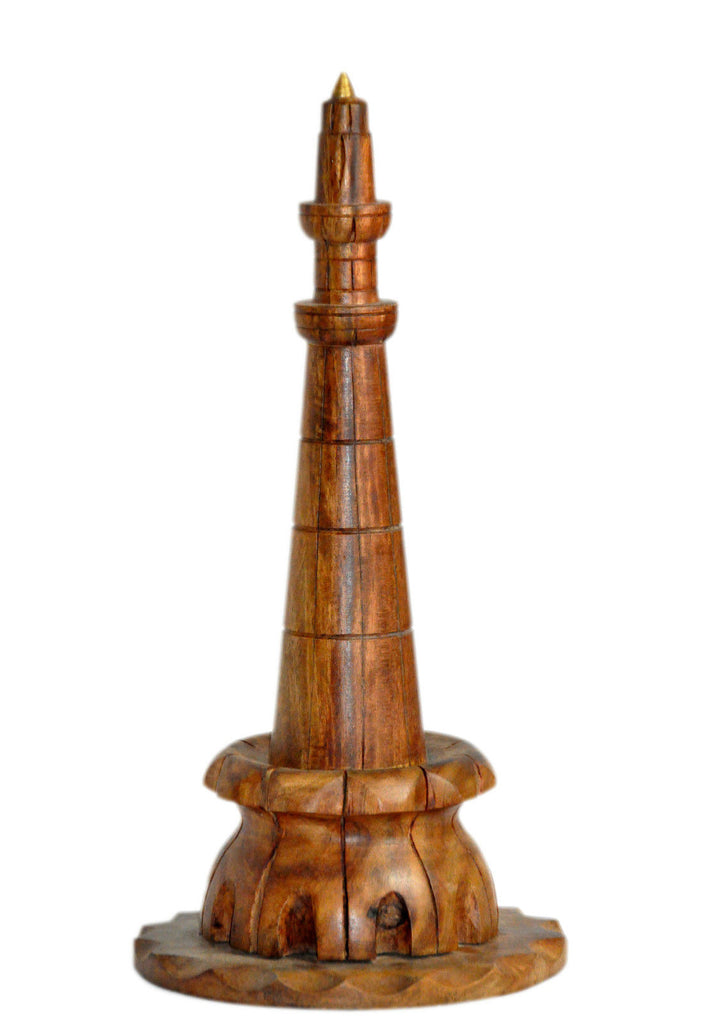 Minar-e- Pakistan From Lahore Pakistan - Wooden Decoration