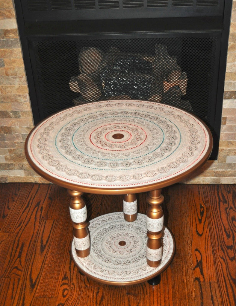 Lacquer Art ( Nakashi Art) Coffee decorative table