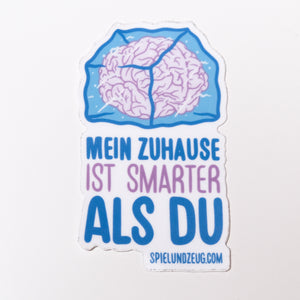"Sticker ""Smarter als Du"""