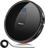 "Bagotte BG600 Robot Vacuum Cleaner, 2.7"" Slim & Quiet, Smart Self-Charging Robotic"