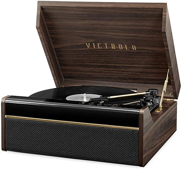Victrola's 3-in-1 Avery Bluetooth Record Player with 3-Speed Turntable