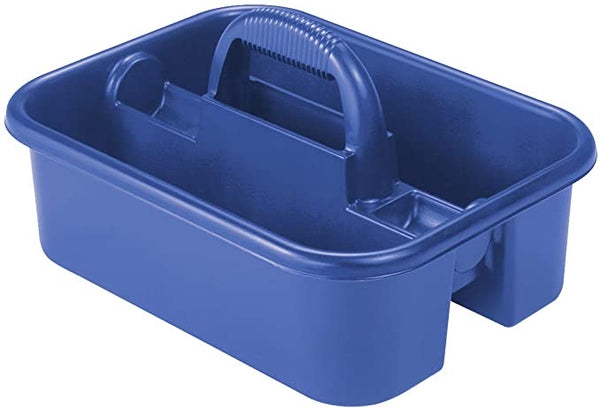 Akro-Mils 09185 Plastic Tote Tool & Supply Cleaning Caddy with Handle