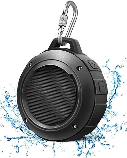 Outdoor Waterproof Bluetooth Speaker,Kunodi Wireless Portable Mini Shower Travel