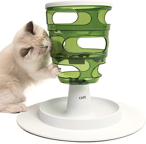 Catit Senses 2.0 Food Tree – Interactive Cat Toy