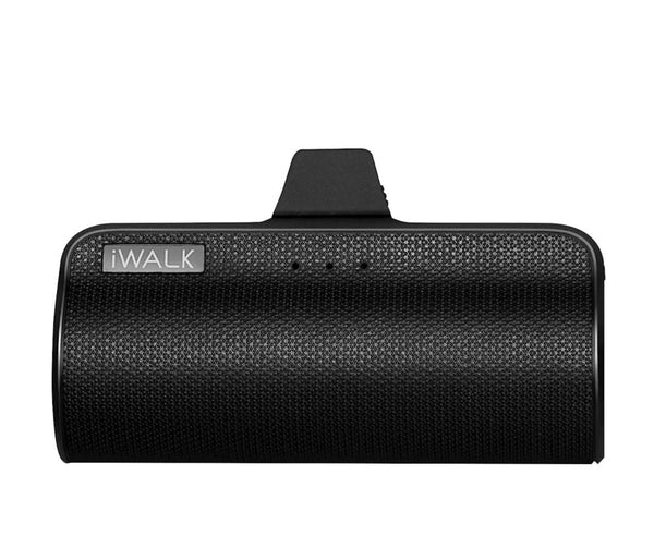 iWalk - LinkMe Plus 3300 mAh Portable Charger for Most USB Type-C Enabled Devices - Black