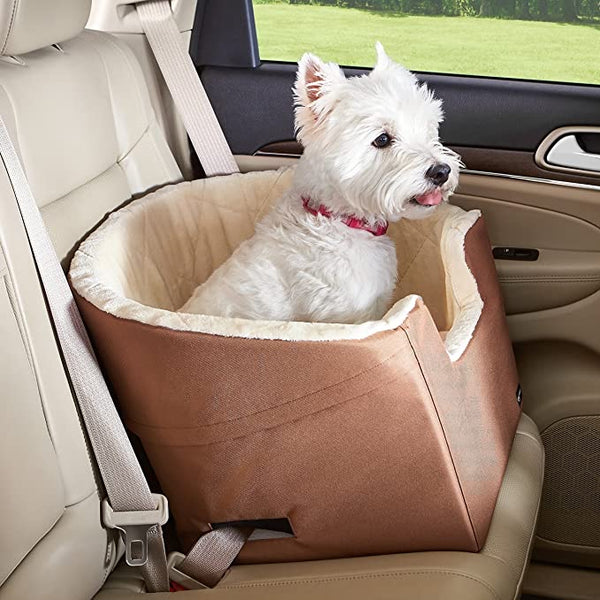 AmazonBasics Pet Car Booster Bucket Seat - 18 x 18 x 16 Inches