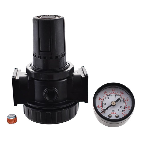 Husky 3/8 in. Regulator with Gauge