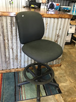HON Mid Back Fabric Computer Chair with Arms Black