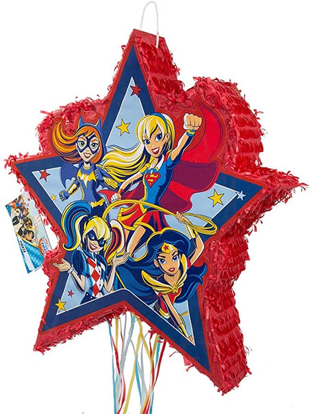 DC Super Hero Girls Pinata, Pull String