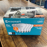 EcoSmart 65-Watt Equivalent BR30 Dimmable Energy Star LED Light Bulb Soft White
