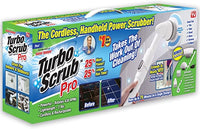 Turbo Scrub PRO - 360 Cordless Rechargeable Floor Scrubber and Tile Cleaning Machine