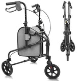 Vive Mobility 3 Wheel Rollator Walker