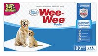 "Four Paws Wee-Wee Puppy Training Standard Size 22"" x 23"" Pee Pads for Dogs"