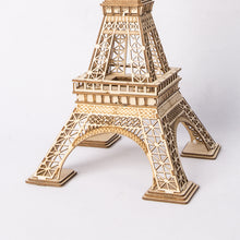 Load image into Gallery viewer, Eiffel Tower 3D Wooden Puzzle