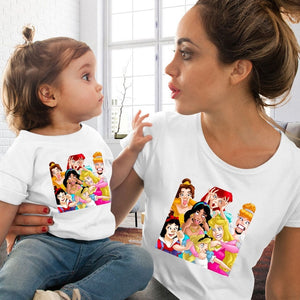 Fashion Family Look Mother and Daughter Family Matching Clothes Punk VOGUE - amalkids