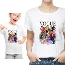 Load image into Gallery viewer, Fashion Family Look Mother and Daughter Family Matching Clothes Punk VOGUE - amalkids