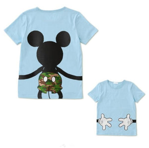 LIL IGIRL Dad and Me T-shirt Summer Mother and Daughter Clothes - amalkids