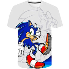 Load image into Gallery viewer, 3D Boys Mario Supersonic sonic Print Girls Funny T-shirts Costume Children 2020 summer Clothing Kids Clothes Baby Tshirts street - amalkids