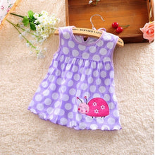 Load image into Gallery viewer, Baby girl dress 2018 summer girl baby dress, hot summer baby dress, summer dress low price - amalkids