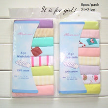 Load image into Gallery viewer, 100% Cotton Newborn Baby Towels Saliva Towel - amalkids