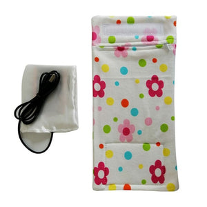 USB Milk Water Warmer Travel Stroller Insulated Bag Baby Nursing Bottle Heater - amalkids