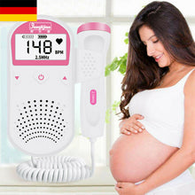 Load image into Gallery viewer, 2020 Baby Ultrasonic Detector Fetal Doppler Prenatal Heart Monitor 3Mhz Backlit LCD - amalkids