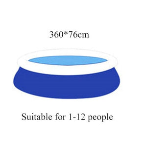 Inflatable Pool High Quality Children's and adult Home Use Paddling Pool Large Size Inflatable Round Swimming Pool for  adult - amalkids