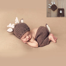Load image into Gallery viewer, newborn photography props crothet baby clothes boy clothing boys  accessories infant  girl costume crocheted handmade outfit - amalkids