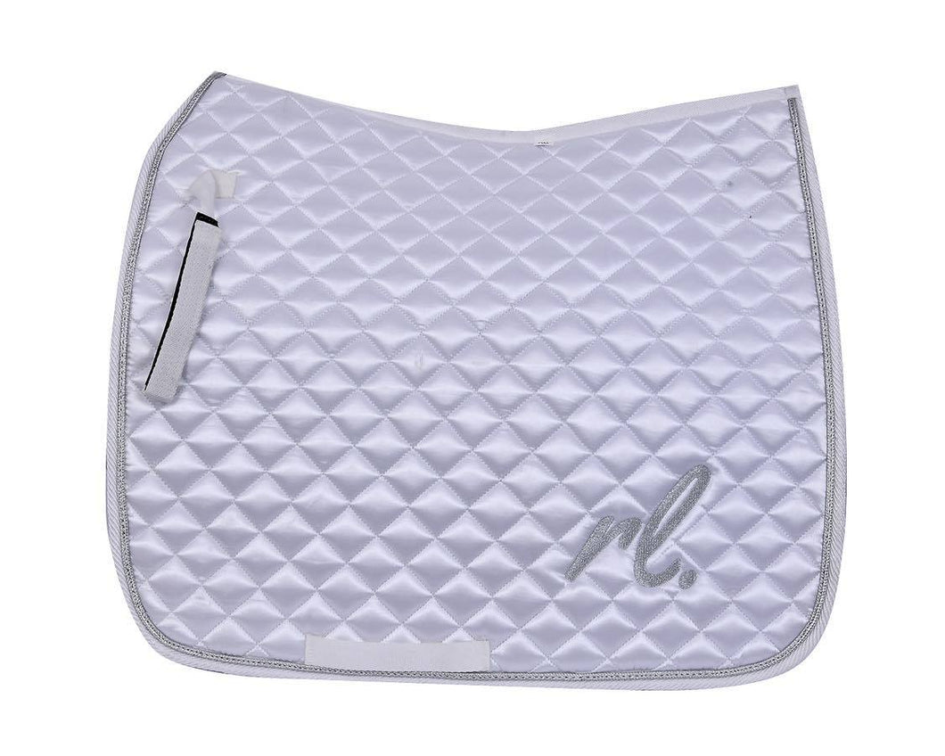 Dazzle and shine - Satin dressage pad